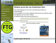 Tablet Preview of feederteamgent.be